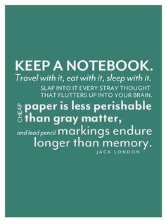 Notebook tips