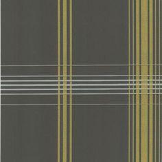 56 sq. ft. Oskar Grey Plaid Wallpaper-DL30471 at The Home Depot