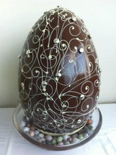 An Eggcellent Chocolate Easter Egg - Yummy....