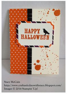 Craftastic Days with Stacy: A Week of Boo-tiful Bags - FMS155; Stampin' Up!; Paper Pumpkin; September 2014; Boo-tiful Bags; Halloween