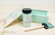 """""""La chalk paint […] permite pintar sobre cualquier superficie sin tener que prepara antes la pieza."""" #diy"""