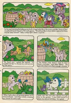 MLP comic s(c)ans: Where baby BOY ponies come from! (More on pg. 2!)