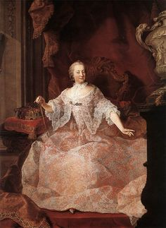 Meytens, Matrin van; Empress Maria Theresa 1700