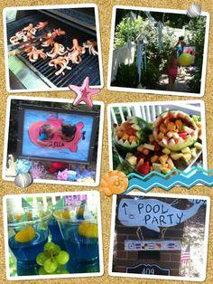Deep sea themed party