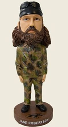 Duck Commander Jase Robertson Bobble Head Duck Dynasty DCNOVBHJASE
