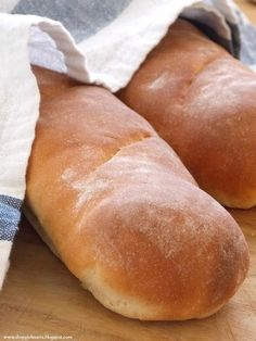 Homemade French Bread - repinned by www.whenangelscook.com