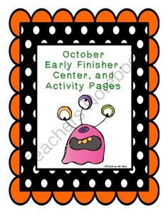 GIVEAWAY! Halloween Activity Pages!! Enter for your chance to win 1 of 2.  Halloween Activity Pages (15 pages) from Teaching The Core on TeachersNotebook.com (Ends on on 10-24-2014)  FREE Halloween Word Search, Spelling Ideas, Making Words, Coloring Pages, and More!