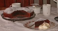 The Chocolate-Coffee Cake is originally a Polish cake with coffee liqueur; the German recipe does use any of it. Just chocolate and coffee. Easy cake. german dessert, german recipes, coffee cakes, chocolates, chocolatecoffe cake, german food, german half, cake recipes