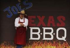Joe Lopez stands in front of the converted garage that smokes up a delicious slice of Texas hospitality at Joe's Texas BBQ on South Ashland Avenue in Green Bay. / Evan Siegle/Press-Gazette