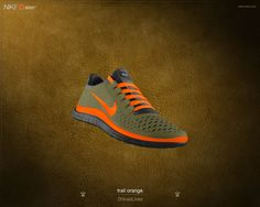 NIKEiD Free 3.0 - custom order that feel awesome on the road.  If you don't like the color, you can choose your own.