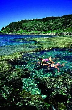 Neds Beach, Lord Howe Island, Australia