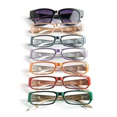 Joy Mangano Faceted Designer Readers-Set of 6