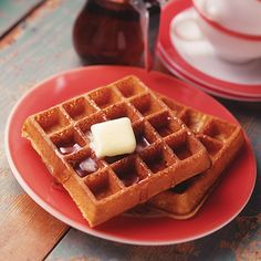 Great, quick waffle recipe.