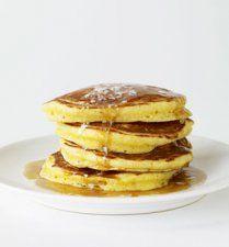 Debi's Grandma's Buttermilk Pancakes Recipe ... the lightest, fluffiest, melt-in-your-mouth breakfast ever!  <3  #debihough