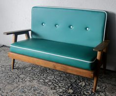 Vintage Sofa in Tosca Green