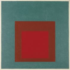 Josef Albers, Study for Homage to the Square: Silent Presence. 1960