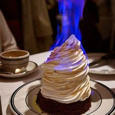 Ice Cream with Fire
