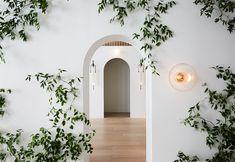 Eclectic Vintage Bohemian Colourful Hallway Interior Ideas