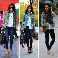 @Gap jacket, 3 ways