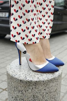 Charlotte Olympia Moon Pumps.