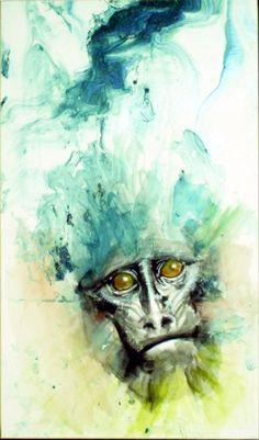 Mystic Monkey by ~Makkon on deviantART
