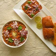 Pav Bhaji...Indian Vegetable Chili recipe