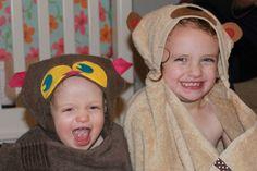 Sew a Kids' Towel Wr