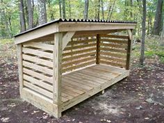 plans for firewood storage - Bing Images