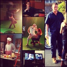 Channing Tatum doing promos for his film Magic Mike. #MagicMike