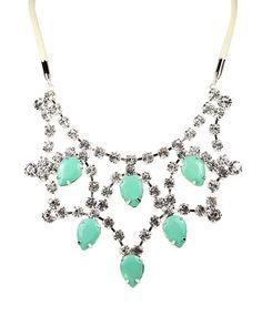Mint Green Princess Bib