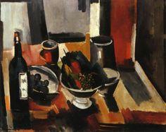 Still Life with Basket of Fruit by Maurice de Vlaminck
