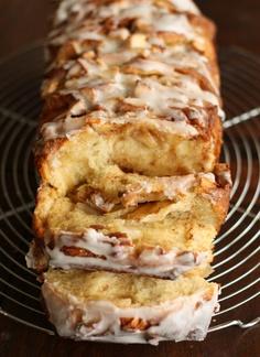 Cinnamon Apple Pull Apart Bread