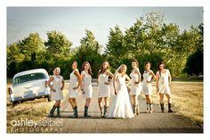 Bridesmaids Dirt Road Shot