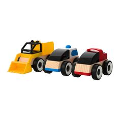 LILLABO Toy vehicle IKEA Possible to create lots of combinations.
