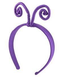 purple butterfly antennae