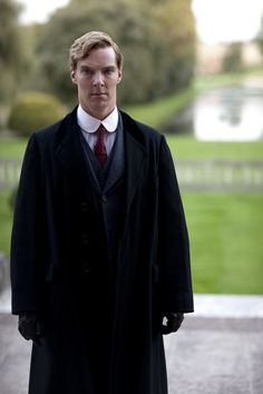 You wanna pop that collar, don't you, Batch? Benedict Cumberbatch, Parade's End