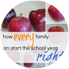 how every family can start the school year off right | SUPER family resource and free printable from teachmama.com --> every family can use this!  #newteachers #backtoschool