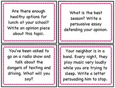 Persuasive essay topics for 5th grade