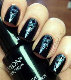 tuxedo fingernails