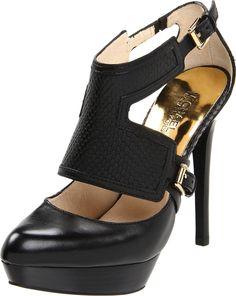 style, platform pump, shoes kors, michael korsgorg, michael korsi, kor platform, kor shoe, chaussur, black