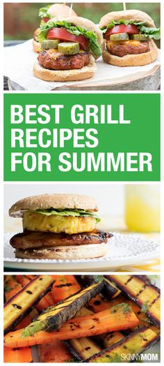 You have to try these yummy grill recipes this summer.