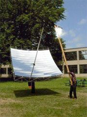 MIT Students Create Cheap 1000x Concentrated Solar Thermal Dish