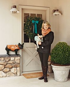 Martha Stewart pet tips: Remove Pet Hair and Pet Stains