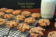 Banana Chocolate Chip Whey Protein Cookies Recipe
