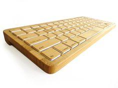 Bamboo bluetooth keyboard on Kickstarter product, bluetooth keyboard, izen bamboo, gadget, green, bamboo keyboard, technolog, design, thing