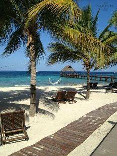 The #beach at #SecretsAura #Cozumel