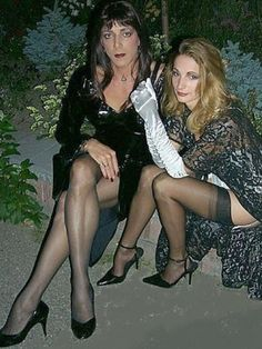 T-girl and wife.