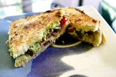dinner, guacamol grill, bacon guacamole grilled cheese, avocado, grilled cheese sandwiches