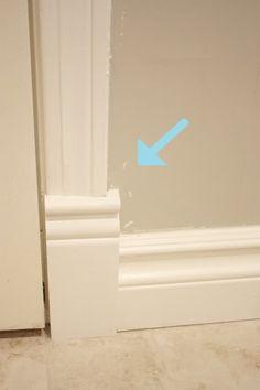 Tips for caulking & painting trim