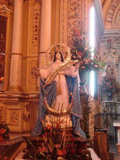 Ntra. Sra. de la Asunción, Sta. Ma. Xixitla, Sn. Pedro Cholula, Pue., via Flickr.